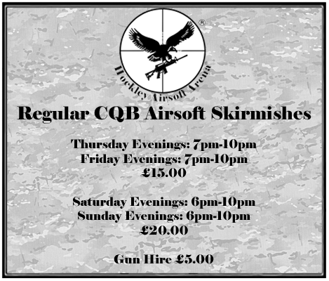 Airsoft CQB Skirmishing