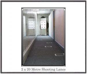 20 metre shooting range