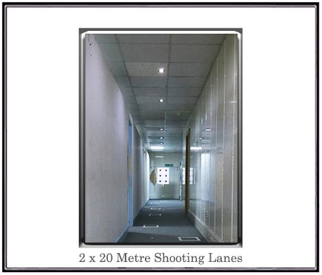 20 metre shooting range point 5