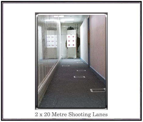 20 metre shooting range